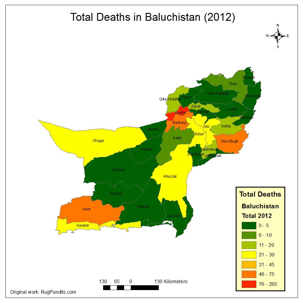 in Baluchistan in 2012...