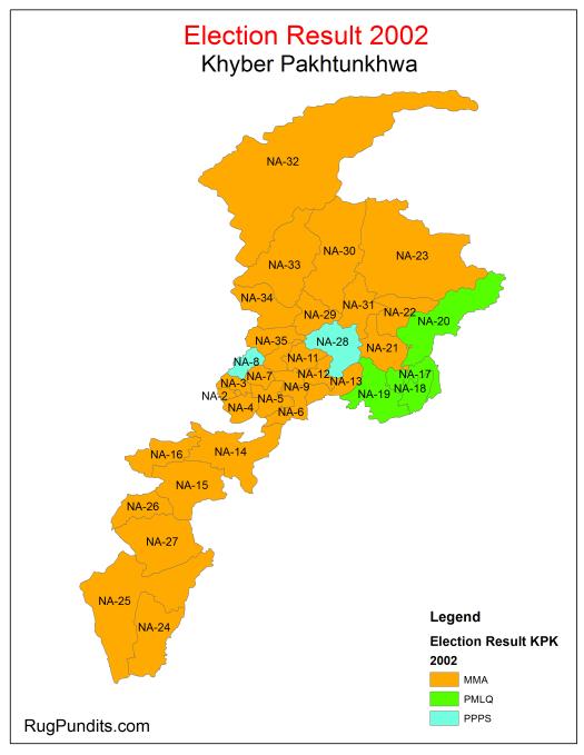 Electoral History KPK - 2002