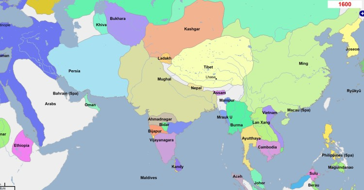 Pakistan-1600AD