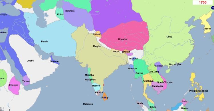 Pakistan-1700AD