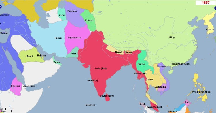 Pakistan-1857AD